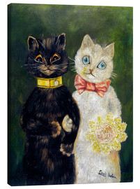 Canvas  Cats Wedding - Louis Wain