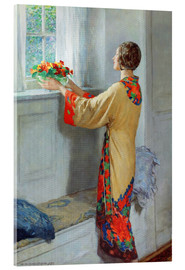 Acrylic glass  New day - William Henry Margetson