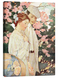 Canvas print  Lovers - Jessie Willcox Smith