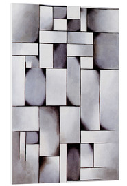 Foam board print  Composition in Gray (Rag-time) - Theo van Doesburg