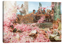 Canvas print  The Roses of Heliogabalus - Lawrence Alma-Tadema