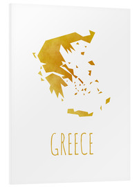 Foam board print  Greece - Stephanie Wittenburg