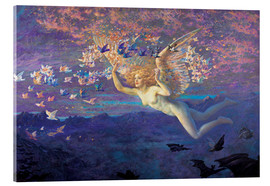Acrylic print  Wings of the Morning - Edward Robert Hughes