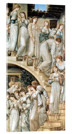 Acrylic print  The Golden Stairs - Edward Burne-Jones