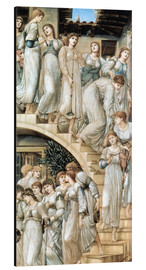 Aluminium print  The Golden Stairs - Edward Burne-Jones
