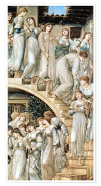 Premium poster  The Golden Stairs - Edward Burne-Jones