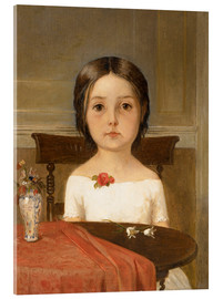 Acrylic glass  Millie Smith - Ford Madox Brown