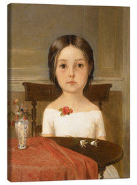 Canvas print  Millie Smith - Ford Madox Brown