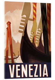 Acrylic print  Venezia - Travel Collection