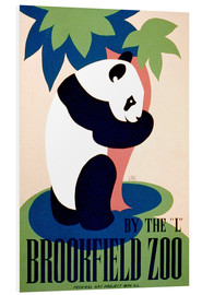 Foam board print  Brookfield Zoo - Advertising Collection