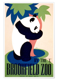 Premium poster  Brookfield Zoo - Advertising Collection