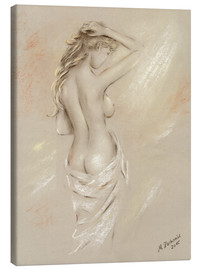 Canvas print  Sexy curves - female nude - Marita Zacharias