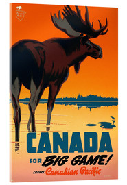 Acrylic glass  Canada travel for big game