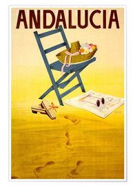 Premium poster  Andalucia - Travel Collection