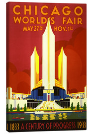 Canvas print  Chicago worlds fair - Travel Collection