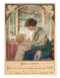 Premium poster A Child's Prayer