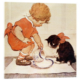 Acrylic print  A Little Childs Book of Stories 2 - Jessie Willcox Smith