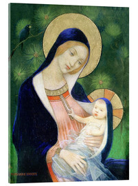 Acrylic print  Madonna and Child - Marianne Stokes