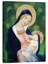 Canvas  Madonna and Child - Marianne Stokes