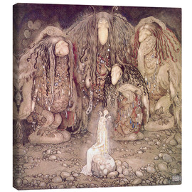 Canvas print  The shining princess - John Bauer