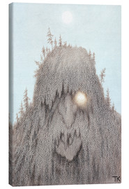Canvas print  Forest Troll - Theodor Kittelsen