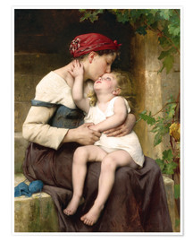 Premium poster Mother and Child