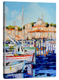 Canvas print  Living by the sea - JIEL