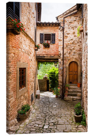 Canvas print  Tuscany - Montefioralle - Reiner Würz