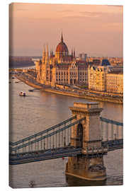 Canvas print  Budapest late afternoon - Fine Art Images