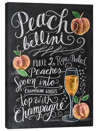 Canvas  Peachbellini recipe - Lily & Val