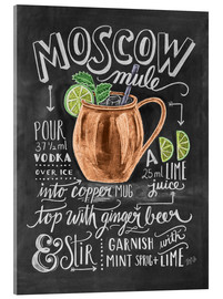 Acrylic print  Moscow Mule - Lily & Val