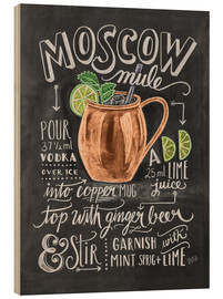 Wood print  Moscow Mule - Lily & Val