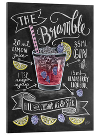 Acrylic print  Bramble cocktail - Lily & Val