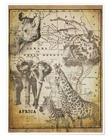 Premium poster  The Spirit of Africa - Andrea Haase