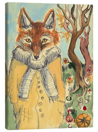 Canvas print  Autumn Fox - Katie O'Hagan