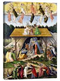 Canvas print  Mystical Birth - Sandro Botticelli