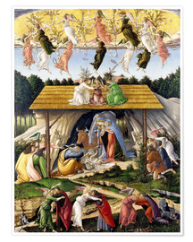 Premium poster  Mystical Birth - Sandro Botticelli