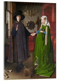 Acrylic print  Arnolfini Wedding - Jan van Eyck