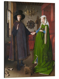 Aluminium print  Arnolfini Wedding - Jan van Eyck