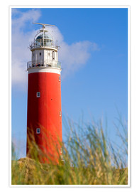 Premium poster Lighthouse on Texel
