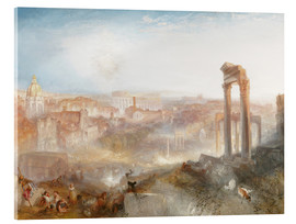 Acrylic print  Modern Rome - Joseph Mallord William Turner