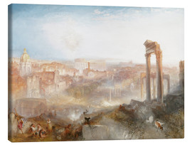 Canvas print  Modern Rome - Joseph Mallord William Turner