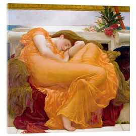 Acrylic print  Flaming June - Frederic Leighton