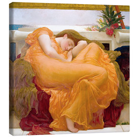 Canvas print  Flaming June - Frederic Leighton