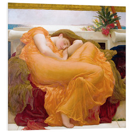 Foam board print  Flaming June - Frederic Leighton