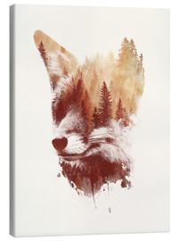 Canvas  Blind fox - Robert Farkas