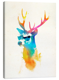 Canvas print  Colorful deer - Robert Farkas