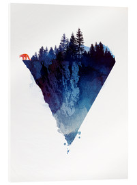 Acrylic print  Near to the edge - Robert Farkas