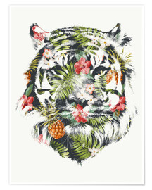 Premium poster  Tropical Tiger - Robert Farkas