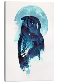 Canvas print  Night Owl - Robert Farkas